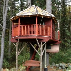 Weston Massachusetts Treehouse Tree Houses By Tree Top