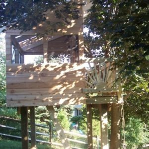 Maryland Kids Treehouse Tree Houses By Tree Top Builders