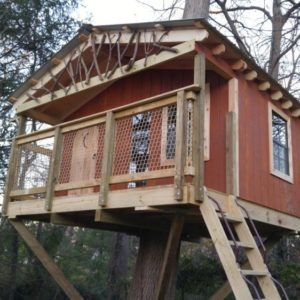 Basic Treehouse In New Jersey Tree Houses By Tree Top