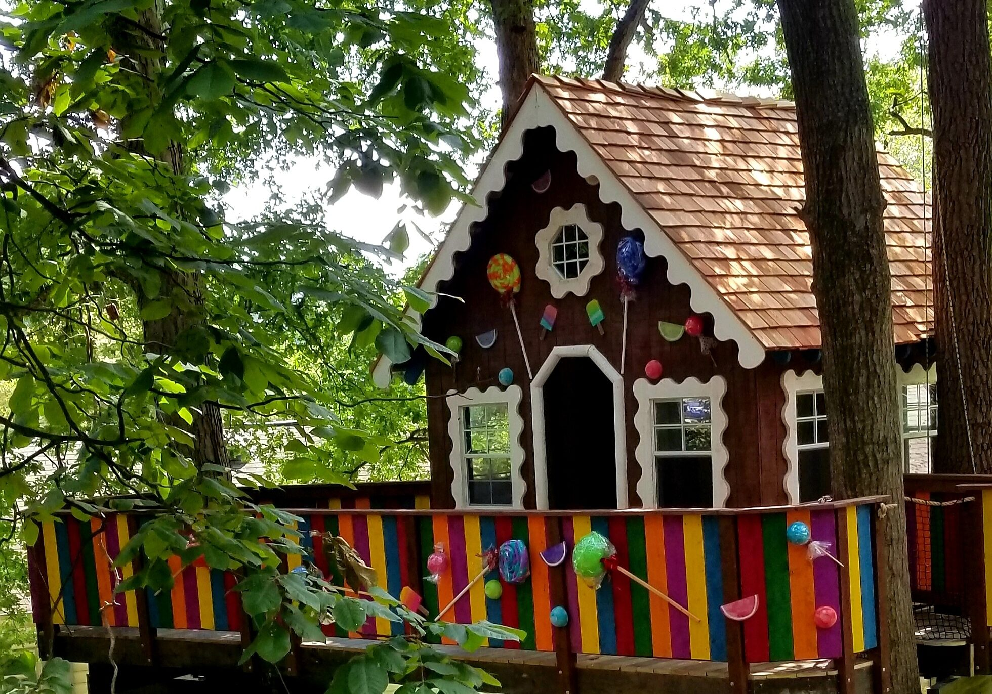 Gingerbread Treehouse